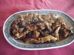Peito de frango com beringela