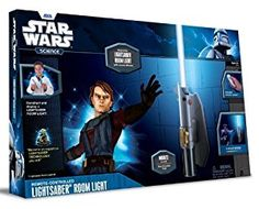 Amazon.com: Uncle Milton - Star Wars Science -  Multicolor Lightsaber Room Light: Toys & Games