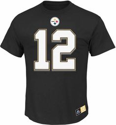 Terry Bradshaw Pittsburgh Steelers Majestic NFL Eligible Receiver II HOF  TShirt -- Find out more about the great product at the image link. f0ffe18a2