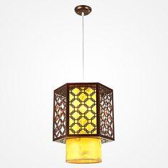 China Style Pendant Lamps Bedroom Pendant Light Wooden Sheepskin Pendant Light Restaurant Lamp Lighting 6081 ZZP