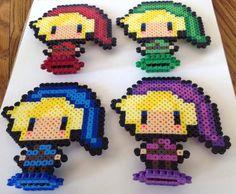 Legend of Zelda Link Perler Chibi by YattaCreations on Etsy, $5.00