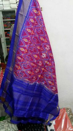 Ikkat silk dupattas at Pure Silk, Bohemian Rug, Women Wear, Pure Products, Rugs, How To Wear, Patterns, Home Decor, Fashion