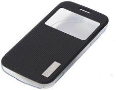 Newtronics Flip Cover for Samsung Galaxy K Zoom Transparent Blackish