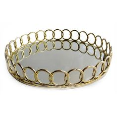 gold serving tray ht
