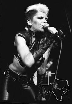 Plasmatics - Nov 25, 1981 at Cullen Auditorium - Rockin Houston