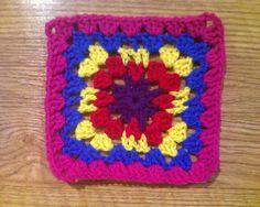 Ravelry: crochetbug13's Granny Square Sampler Afghan
