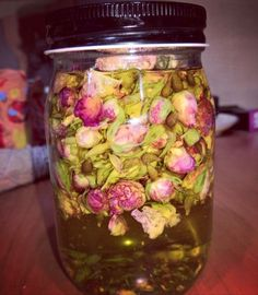 Easiest way to make an herbal oil