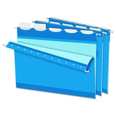 Pendaflex Colored Reinforced 1/5 Tab Hanging Folders