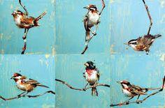 Afbeeldingsresultaat voor bird paintings