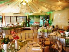 Make your dream event happen with Hizon's Catering Catering Companies, Event Venues, Philippines, Special Events, Pergola, Restaurant, Table Decorations, Make It Yourself, Home Decor