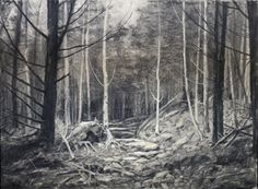 "A Moments Light 19 5/8""x 27 5/8"" Charcoal/ Pastel"