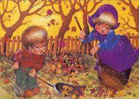 Füzesi Zsuzsa képeslapok - Lorenin's Collection Seasons, Drawings, Artist, Sarah Key, Pictures, Painting, Hungary, November, Weather