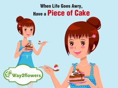 Life's too short to say no to #cake. Don't miss it..Order Now - https://www.way2flowers.com/cakes  #Cakes #Occasions #way2flowers #Happiness Online Cake Delivery, Online Florist, Fresh Flower Delivery, Gift Cake, Fresh Flowers, Beautiful Flowers, Pretty Flowers