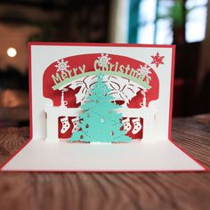 3D Pop Up Birthday Christmas Handmade Greeting Cards A Variety of Styles