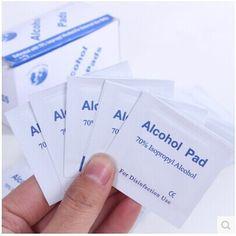 Antiphlogosis Isopropyl Rượu Tăm Bông Pads Mảnh Lau Khử Trùng Làm Sạch Da Chăm Sóc mm01 35 cái