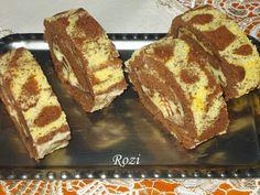 Rozi Erdélyi konyhája: Mintás piskótatekercs