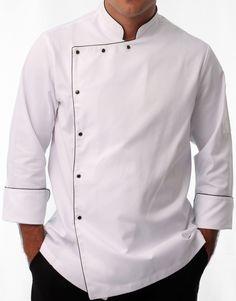 Dolmã Cruzeiro do Sul Hotel Uniform, Men In Uniform, Indian Men Fashion, Mens Fashion, Restaurant Uniforms, Indian Man, Formal Suits, Baroque Fashion, Shirt Style