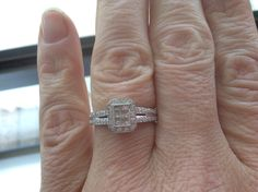 Purchased myself a diamond ring I affectionally term my freedom ring
