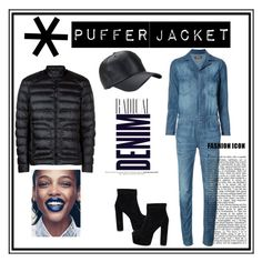 """Puffer jacket"" by nancykou on Polyvore featuring Etienne Marcel, Belstaff and Alima"