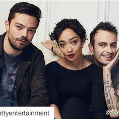 #Repost @gettyentertainment with @repostapp ・・・ #DominicCooper, #RuthNegga and #JosephGilgun of '#Preacher' are photographed in the Getty Images #SXSW Portrait Studio powered by #Samsung at the Samsung Studio in #Austin, Texas | March 14, 2016 | : Smallz & Raskind/Getty Images for Samsung
