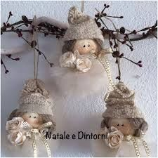 white and grey palette hanging Christmas decorations, sewinAngioletti ll I love the hair & bow! Christmas To Do List, Christmas Makes, Felt Christmas, Christmas Angels, Christmas Holidays, Christmas Wreaths, Christmas Decorations, Christmas Ornaments, Angel Ornaments