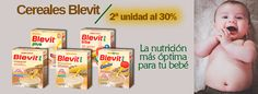 #Nutrición completa para tu #bebé: cereales Blevit al 30% de descuento la 2ª unidad. En @farmaaccioncom https://www.farmaaccion.com/promocion-30-cereales-blevit.html