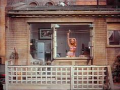 ALFRED HITCHCOCK 1954 - rear window