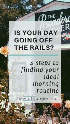 Finding a morning routine not only increased my productivity and peppiness, it had a surprising effect: my spending naturally decreased.