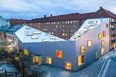 Ama'r Children's Culture House, Copenhagen, Amager, 2012