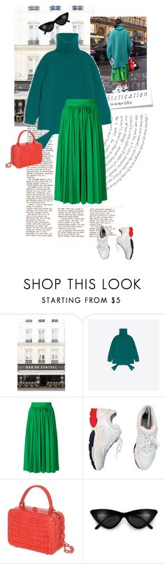 """#169"" by yolins ❤ liked on Polyvore featuring Balenciaga, RED Valentino, Chanel and Nancy Gonzalez"