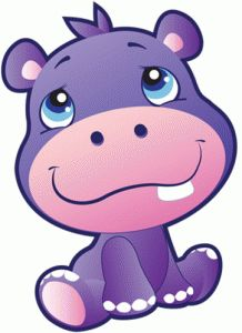 View Design #74514: safari hippo