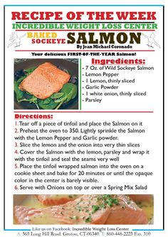 ideal protein baked salmon