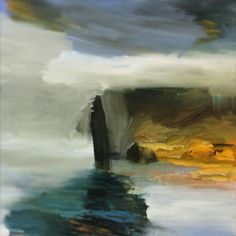 """ Ponzada "" oil on canvas, 100 x 100 cm, Bjørnar Aaslund 2015"