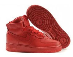 Nike Air Force One Four Guardians High Womens Shoes - Red - Wholesale Outlet 9b03420a2