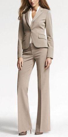 Women's pants suit for job interview