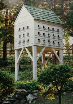 impressive dovecote - I don't have doves, but I would just love this sitting somewhere in my yard..... love it!!!!!!
