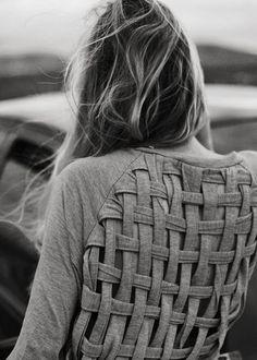 Crossed tshirt