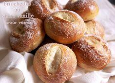 briochettes au sucre vanille