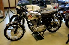 BSA Gold Star - maybe the best Cafe Racer