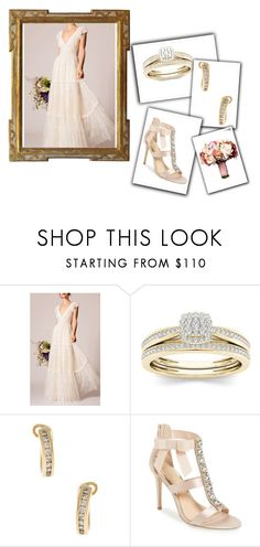 """""""Outfit # 4293"""" by miriam83 ❤ liked on Polyvore featuring Temperley London, Tiffany & Co. and Badgley Mischka"""