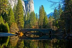 """Reflecting On Yosemite"" by Bill Gallagher."