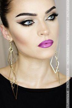 Makeup for Black Dress