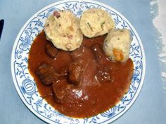 Chicken, Meat, Breakfast, Ethnic Recipes, Food, Red Peppers, Morning Coffee, Eten, Meals