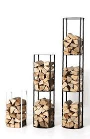 Image result for stacked wood wall storage