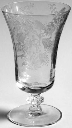 Tiffin/Franciscan FUCHSIA (ETCHED) Juice Glass 716140
