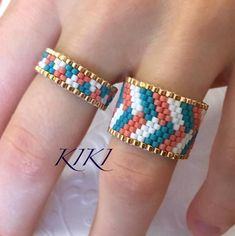 Micro Pave Diamond Ring/ Trendy White Diamond Ring Gift for Her/ Dainty Diamond Ring / Mothers Day Gift - Fine Jewelry Ideas Beaded Jewelry Patterns, Bracelet Patterns, Rose Gold Morganite Ring, Motifs Perler, Leaf Engagement Ring, Braid Designs, Bead Loom Bracelets, Ring Set, Bracelets