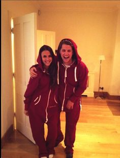 Lucy + Stevie Made in Chelsea wearing Charlie McLeod onsies Made In Chelsea, Matching Couples, Matching Outfits, Cute Couples, Couples Onesies, Stevie J, Lucy Watson, Mommy Workout