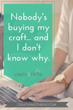 Chances are, you became a crafter because you love making stuff. (I know I did.) By now, you've probably worked out what you like making the most. And if you're here, reading this, I'm going to assume that you like making that stuff so much that you're trying to make (at least part of) a living by selling the stuff you like to make.  #etsyshop #etsyseller #etsybusiness #etsy Craft Business, Creative Business, Business Tips, Online Business, Starting An Etsy Business, Craft Online, Handmade Shop, Handmade Products, Sell On Etsy