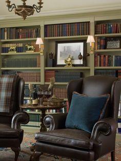 "ralph lauren interior design ideas | ... ""Ralph Lauren"" inspired home library(via Kathleen Burke Design"