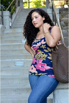 Spring Prints for Girls with Curves
